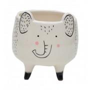 Vaso Cachepot Cute Bichinhos Elefante | Bras Continental