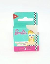 Fita Adesivo Washi Tape Barbie com 2 fitas | Tris