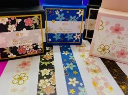 Washi Tape Flores Sortidas | Importado