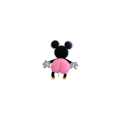 Adesivo Mikey Pop It Anti Estress Relaxamento Ansiedade Fidget Toy Bum Bum Fofinho| Importado
