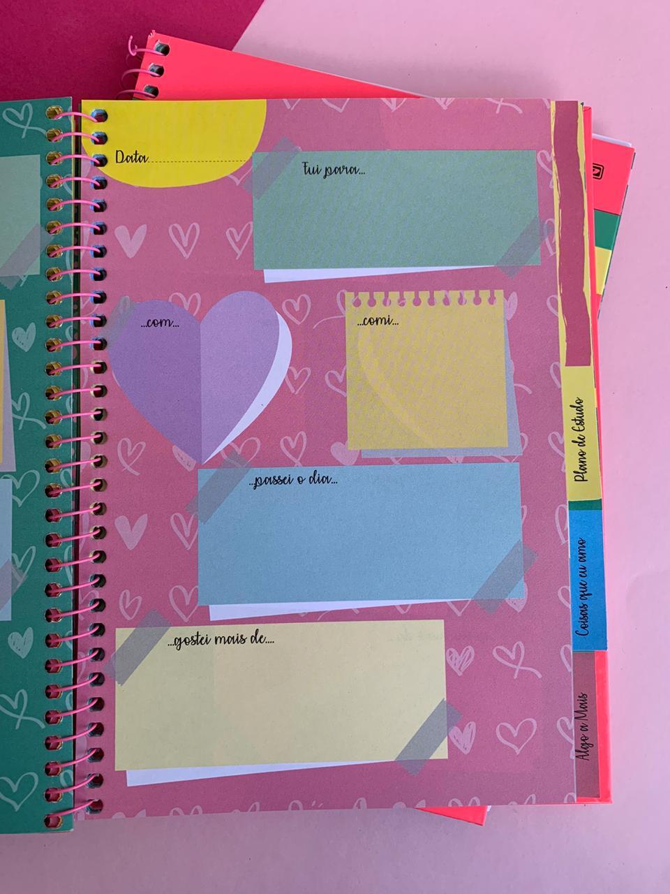 Agenda My Dear Planner Permanente Estrelas  São Domingos