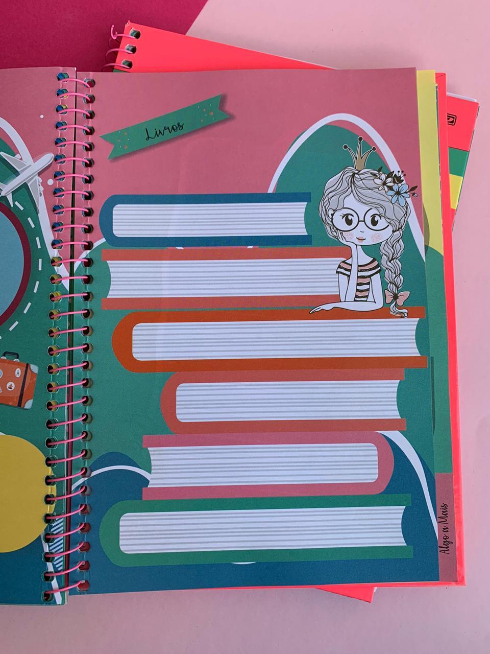 Agenda My Dear Planner Permanente Melancia | São Domingos