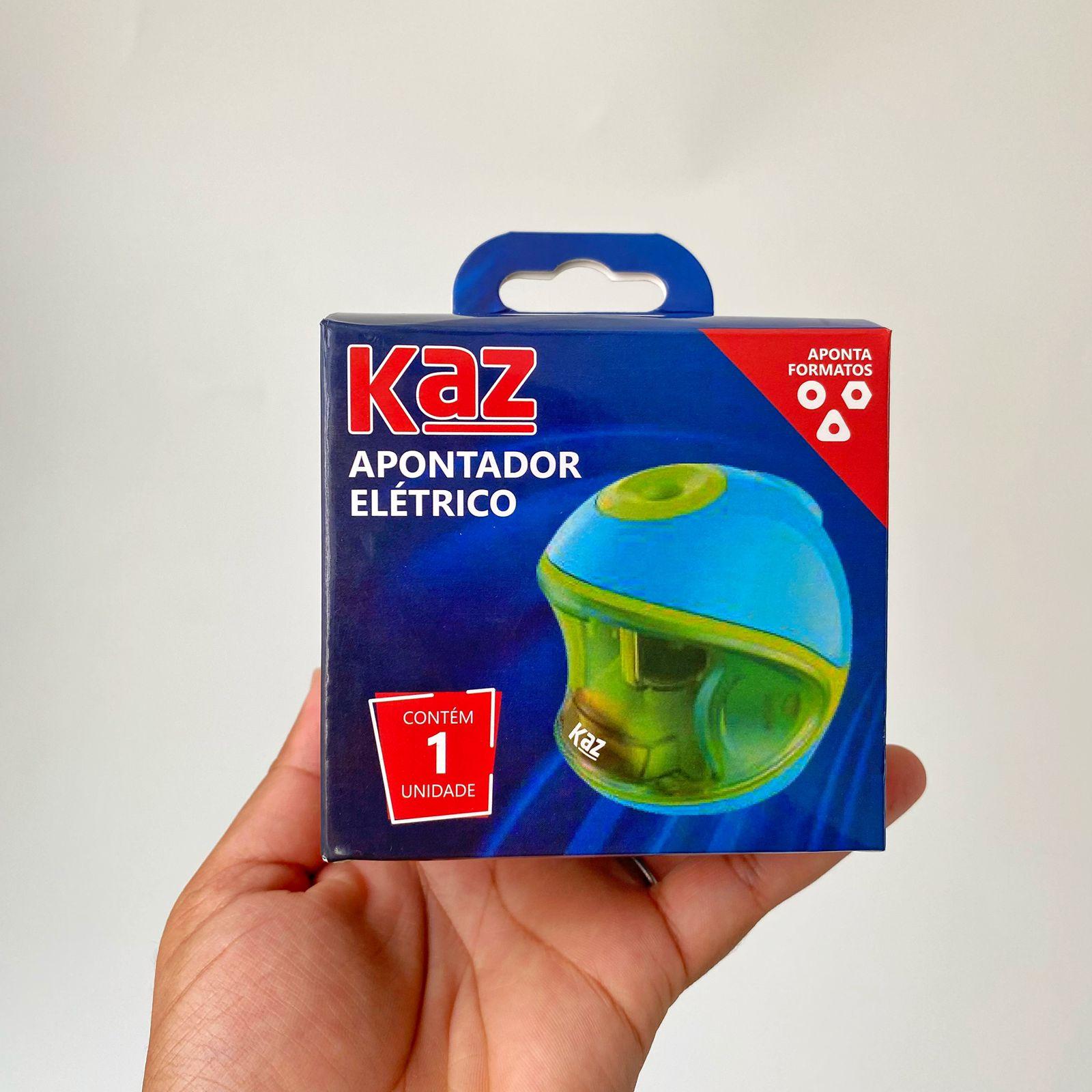 Apontador Elétrico de Mesa Capacete   Kaz