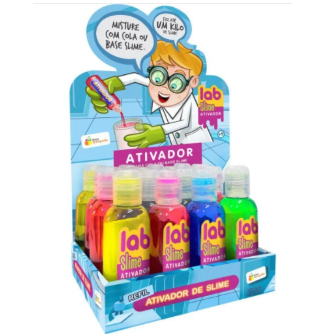Ativador de Slime Lab Slime | Doce Brinquedo