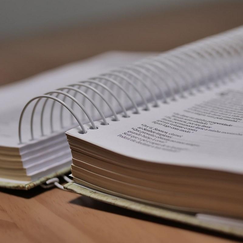 Bíblia Sagrada Versão NAA Jornada Anote Espiral Letra Maior Amor | Plenitude