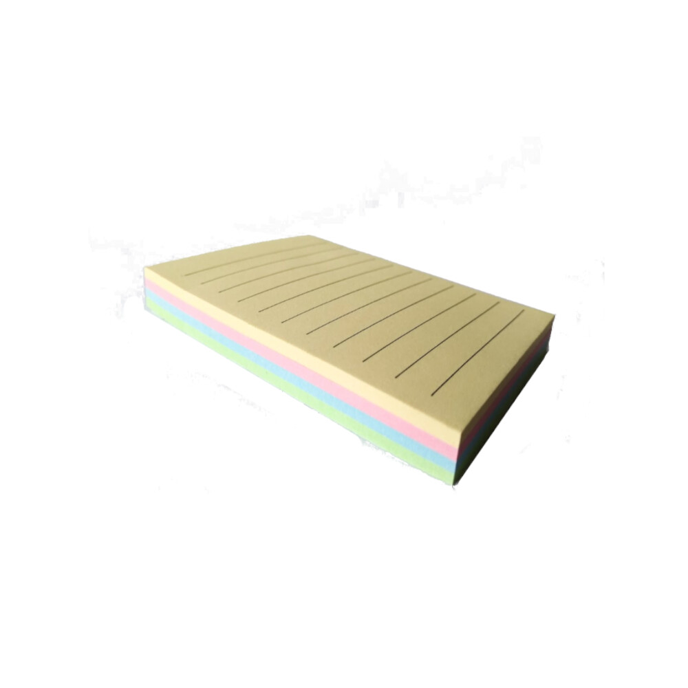 Bloco Adesivo Tipo Post-it 76x102mm C/ 100 Fls Cores Pastel | BRW