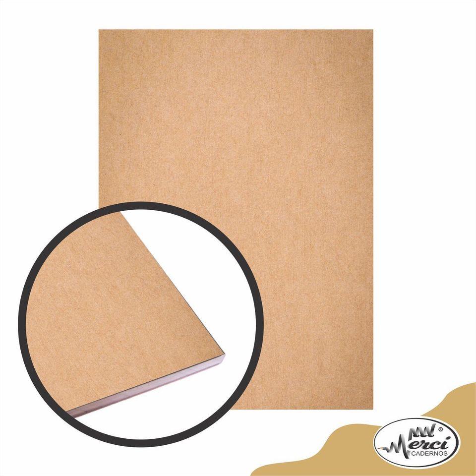 Bloco Artístico estilo livre Kraft 180gr | Merci Cadernos