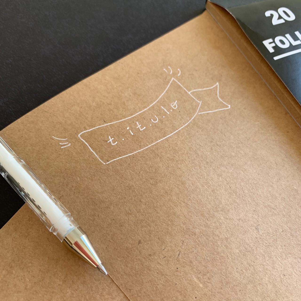 Bloco Artístico Estilo Livre Folha Kraft 180gr   Merci Cadernos