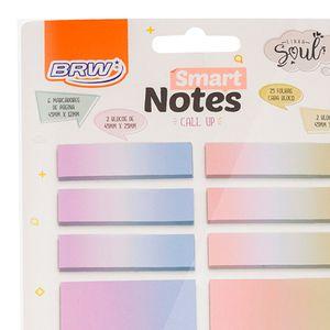 Bloco Auto-Adesivo Smart Notes Degrade BRW | BRW