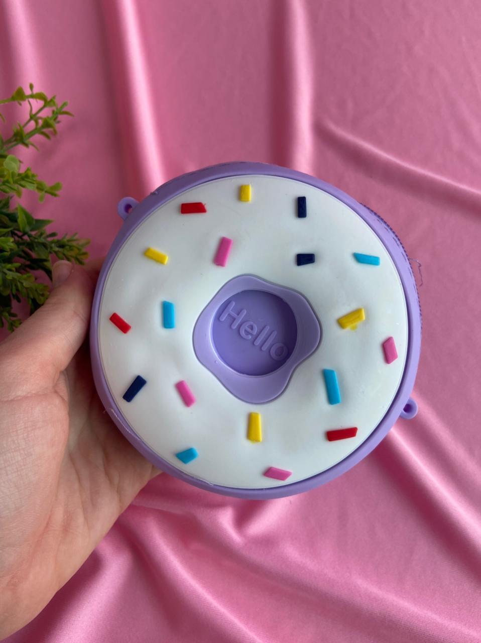 Bolsa de Silicone Donuts Cor Sortida | Importada