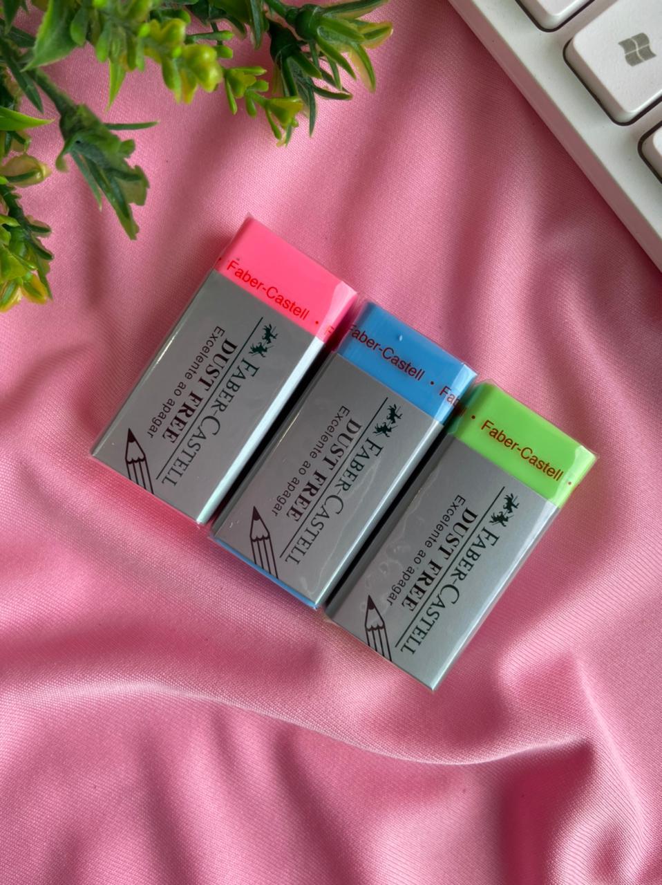 Borracha Dust Free Colors - Cores Variadas| Faber-Castell