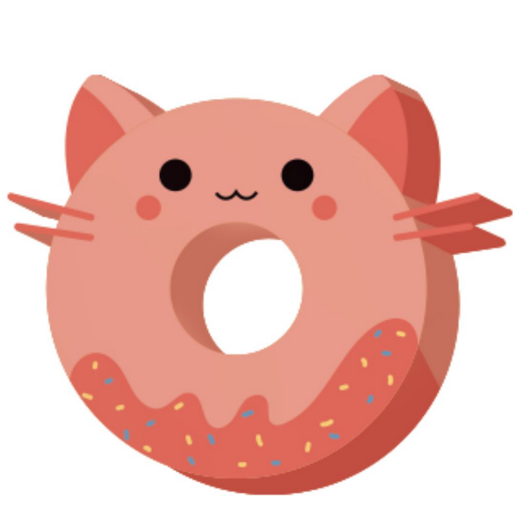 Borracha Gatinho - Donut Cat Pet Donut | Leonora