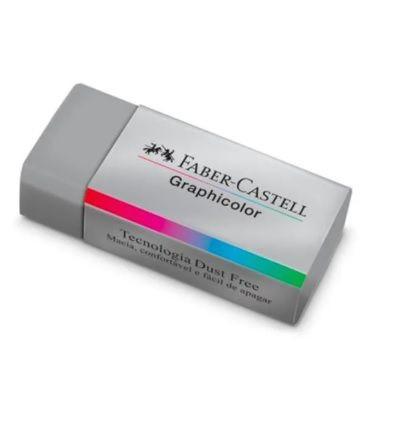 Borracha Graphicolor Faber-Castell - Apaga lápis de cor | Faber-Castell