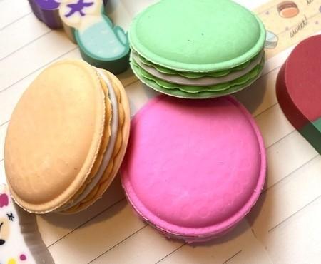 Borracha Macaron Food Trends - Cores Variadas | Leonora