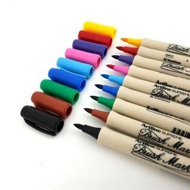 Brush Pen Artline Supreme a Base D'agua | Avulso | Tilibra