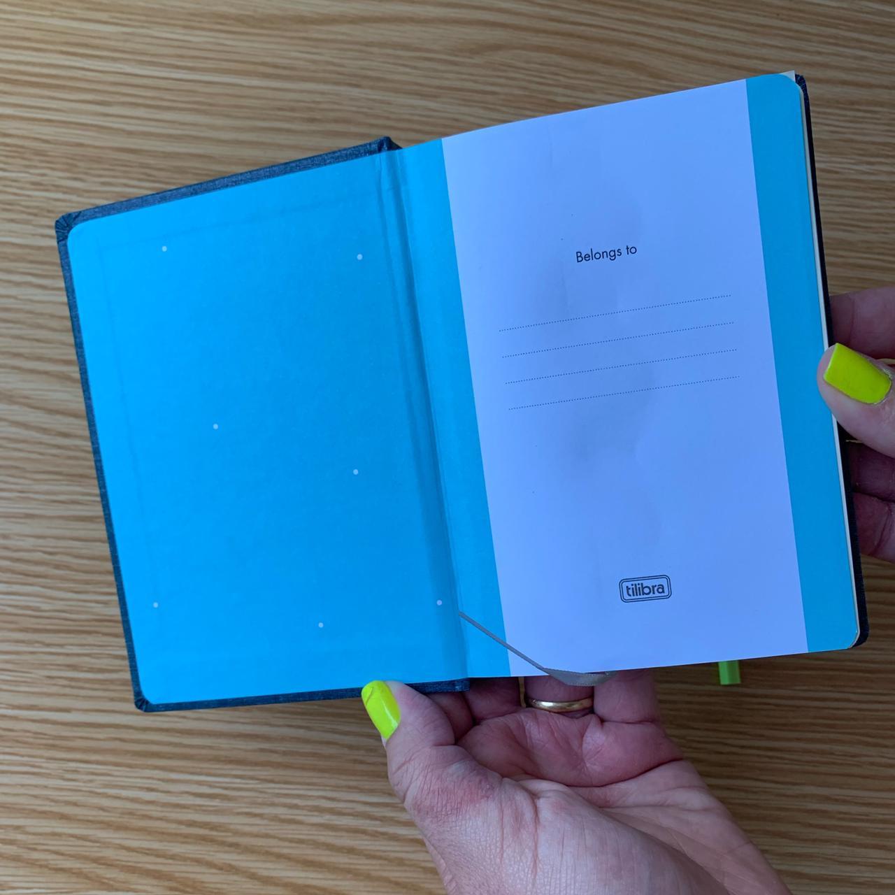 Caderneta Sem Pauta  Fitto Cambridge com 80 Folhas | Tilibra