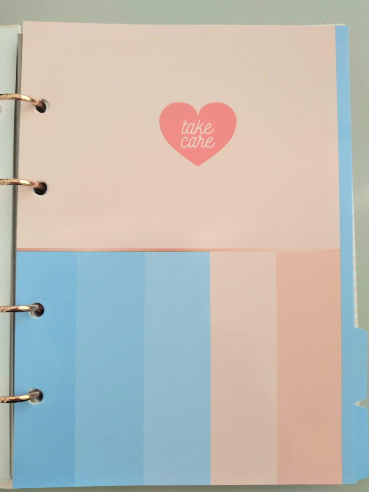 Caderno Argolado Colegial Soho Beauty 160 folhas| Tilibra