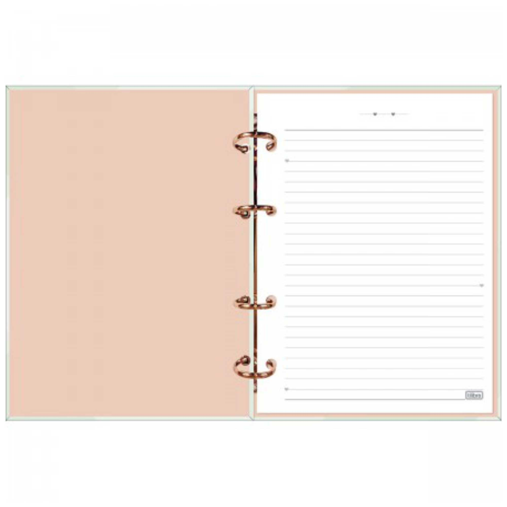 Caderno Argolado Colegial Soho 160 folhas  Tilibra