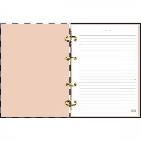 Caderno Argolado Fichário West Village    Tilibra