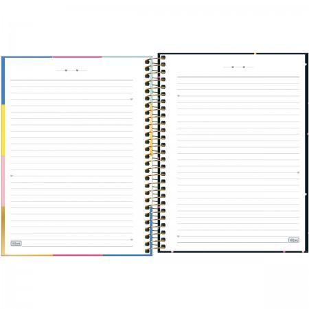 Caderno Be Nice Colegial Capa Dura 10 matérias 160 folhas 177x240mm | Tilibra