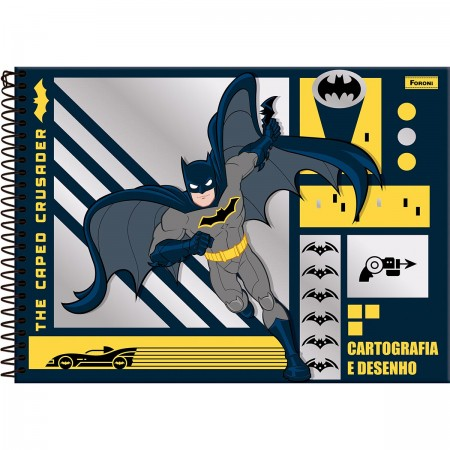 Caderno Cartografia Batman