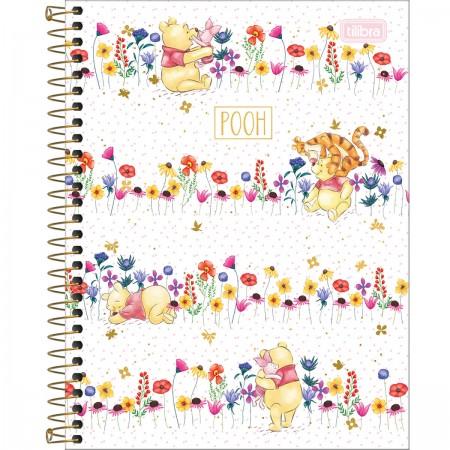 Caderno Colegial Pooh 80 folhas | Tilibra