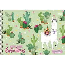 Caderno De Cartografia Hello 80 Folhas | Tilibra