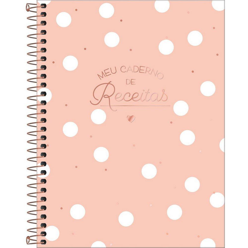 Caderno de Receitas Espiral Soho 90 Gramas 80 Folhas | Tilibra