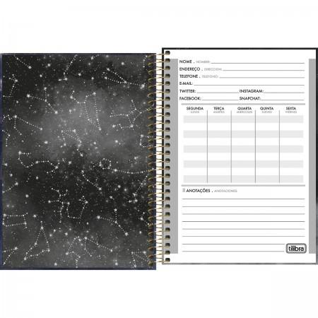 Caderno Espiral Capa Dura 1/4 Magic 80 Folhas   TILIBRA