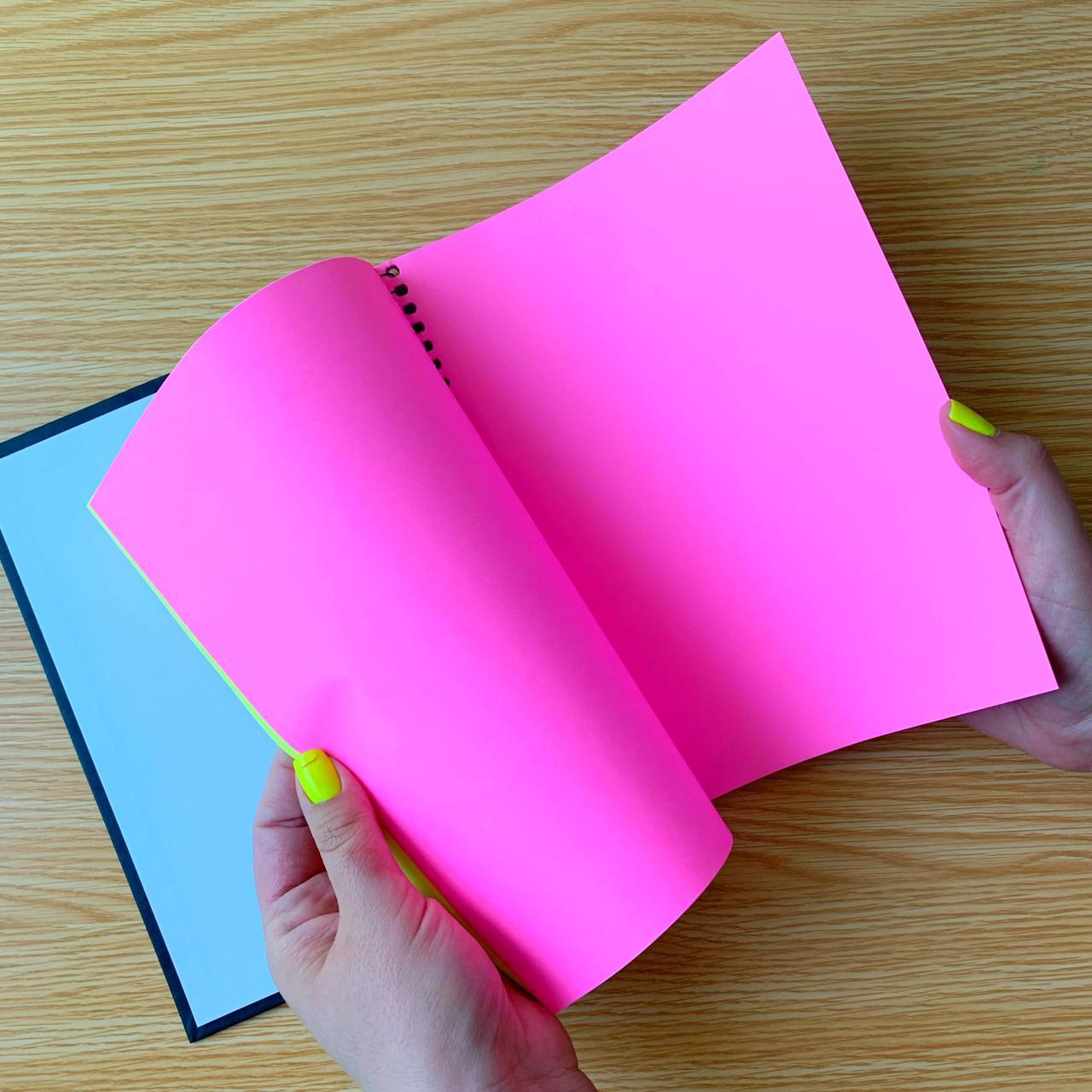 Caderno Espiral capa dura Neon Kori 2022 | Tilibra