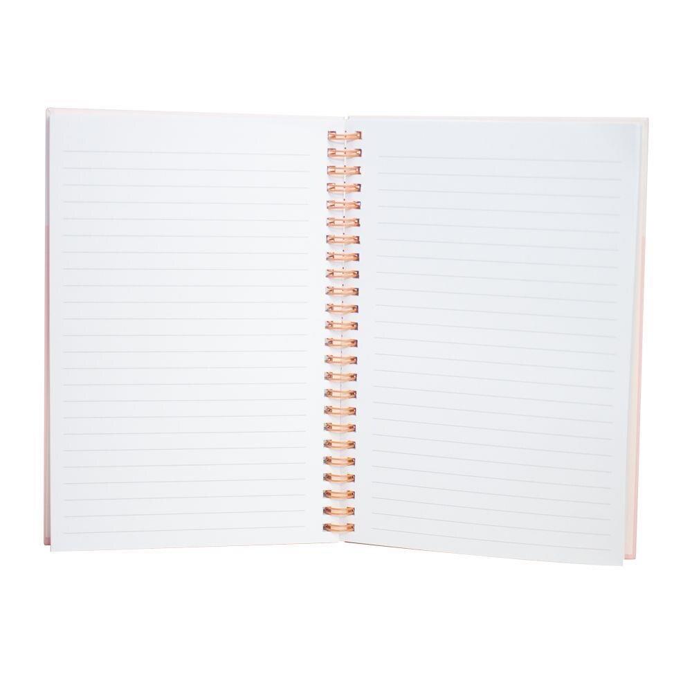 Caderno Espiral Pautado Capa Dura 80g A6 80 Folhas    Bee Unique