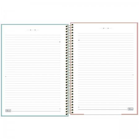 Caderno Espiral Universitário Capa Dura Lhama Hello 160 Folhas 10 matérias | Tilibra