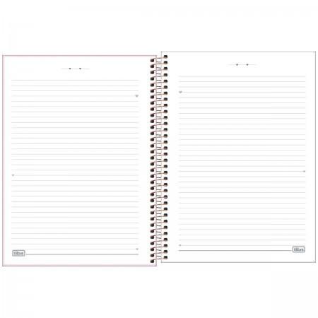 Caderno Happy Capa Dura Universitário 160 folhas 10 matérias - Capas Variadas | Tilibra
