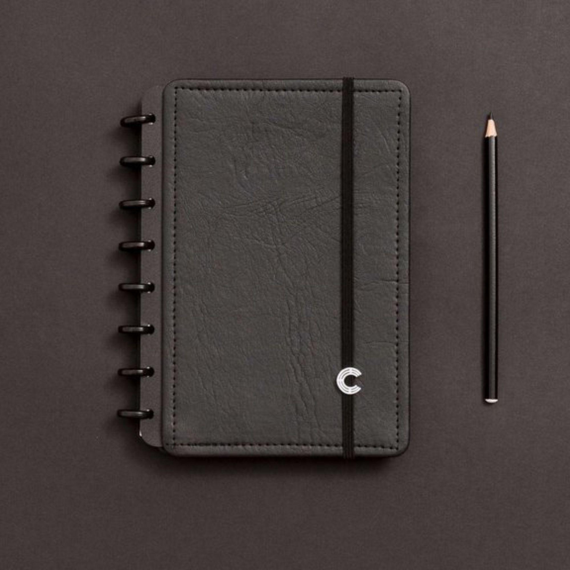 Caderno Inteligente Black Ecologico  A5 155x220mm | Caderno Inteligente