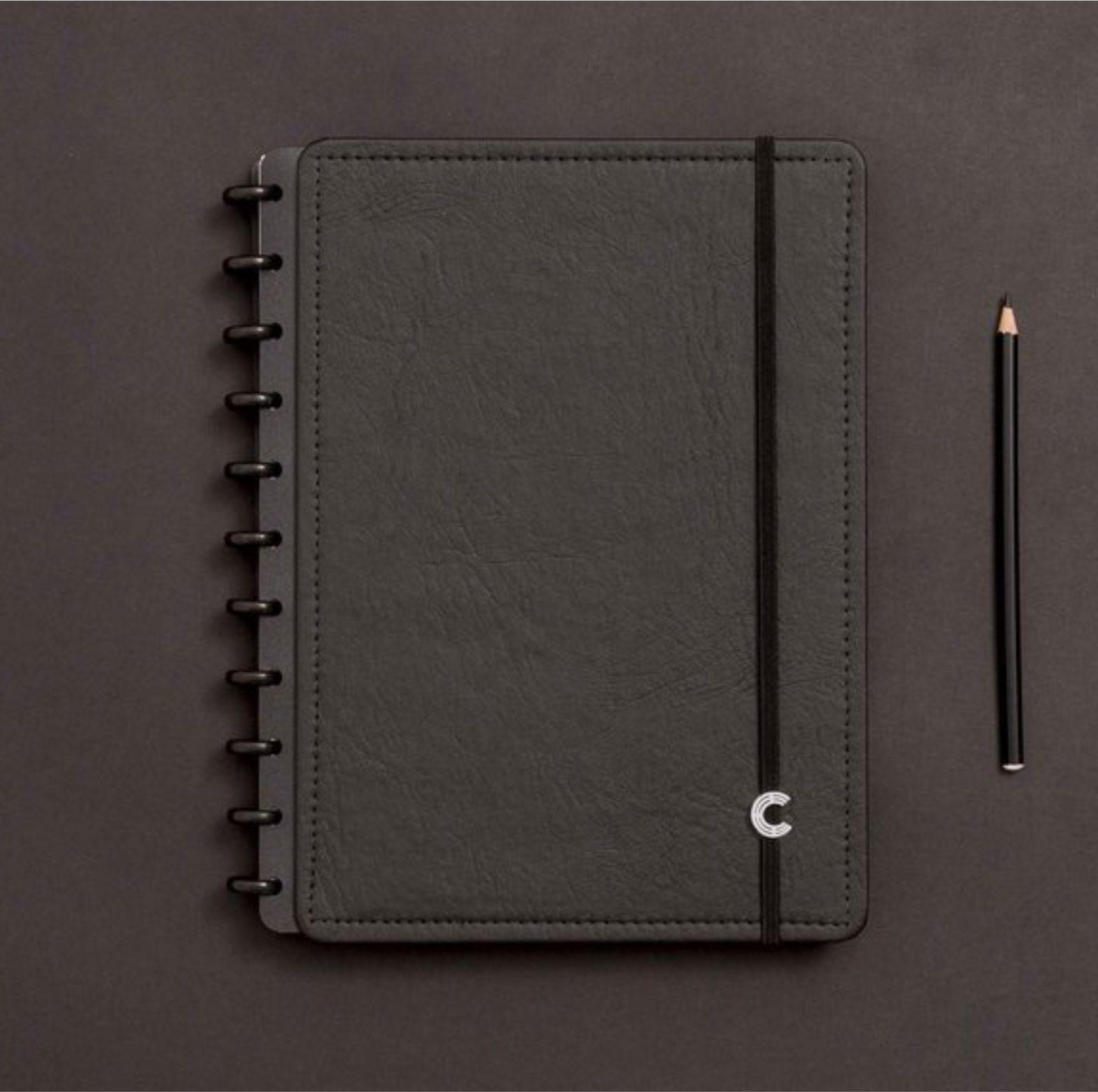 Caderno Inteligente Black Ecológico Grande 280x215mm   Caderno Inteligente