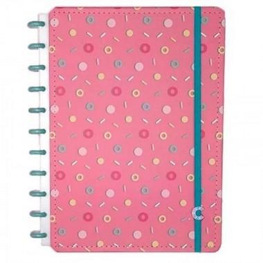Caderno Lolly Candy Donuts e Docinhos | Caderno Inteligente
