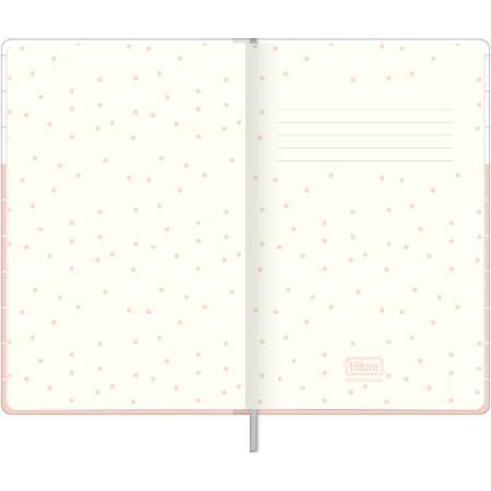 Caderno Pontilhado Costurado Capa Dura Full Of Bright Ideias Soho 80 Folhas   Tilibra