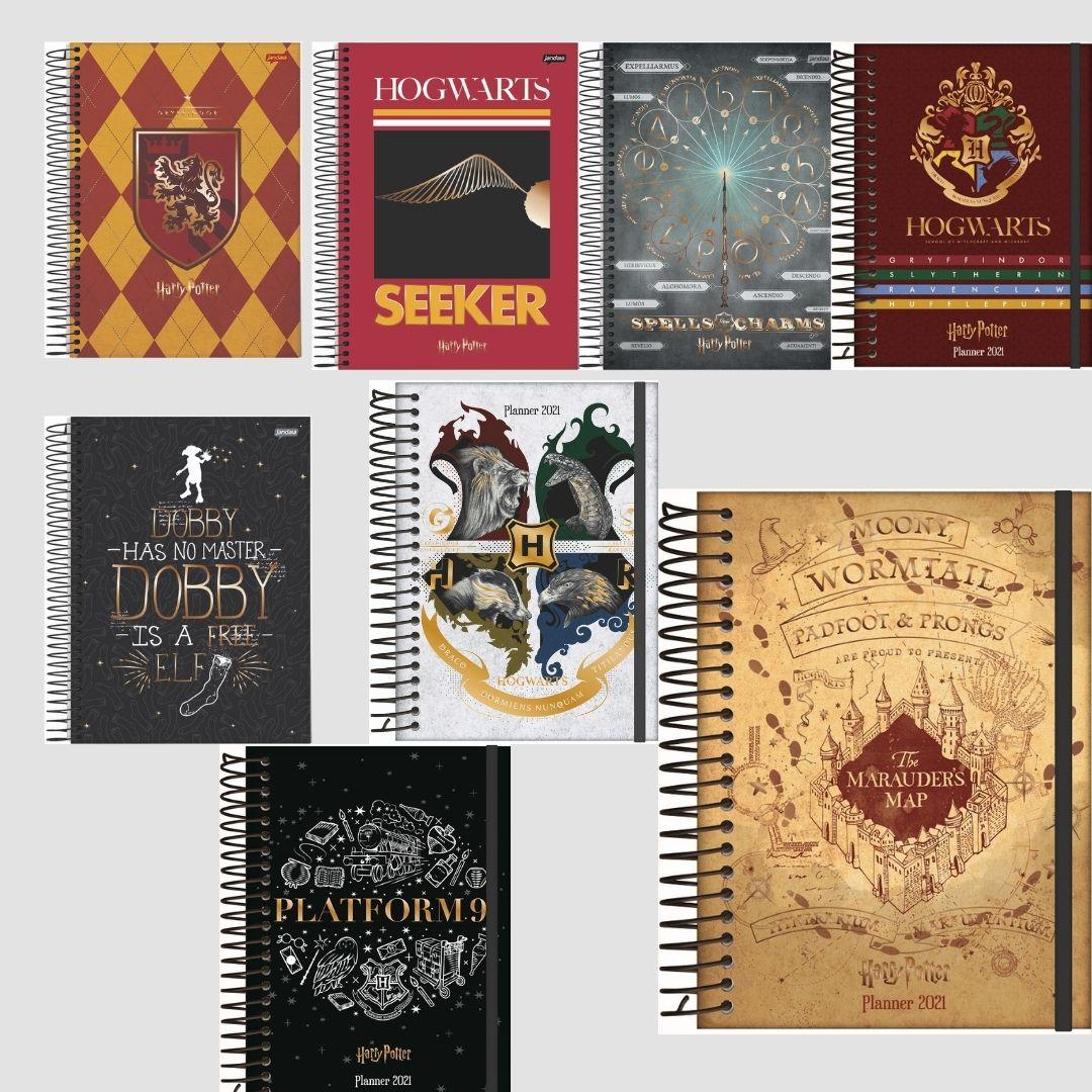 Caderno Universitário 10 matérias 200 folhas Harry Potter | Jandaia