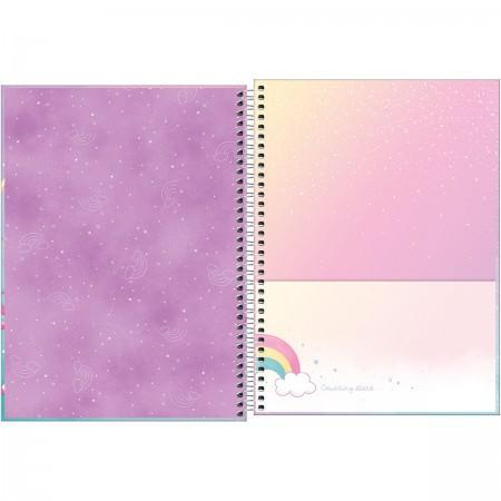 Caderno Universitário Blink 80 folhas - Capas Variadas   Tilibra