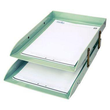 Caixa Correspondência Articulável Dupla Verde | Dello