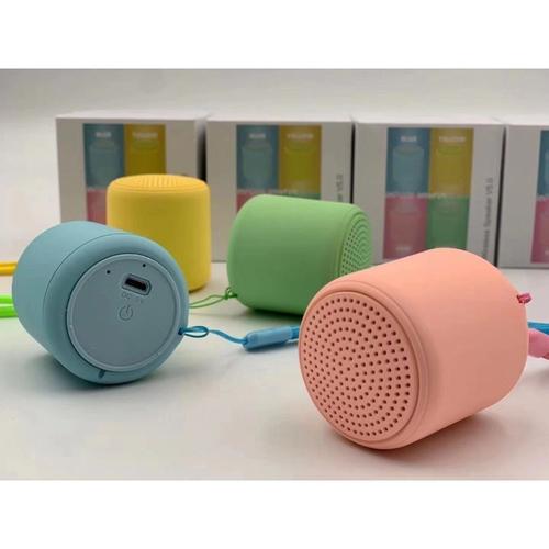 Caixa Som Bluetooth Tws Silicone Mini Speaker Amplificada V5 | Importado