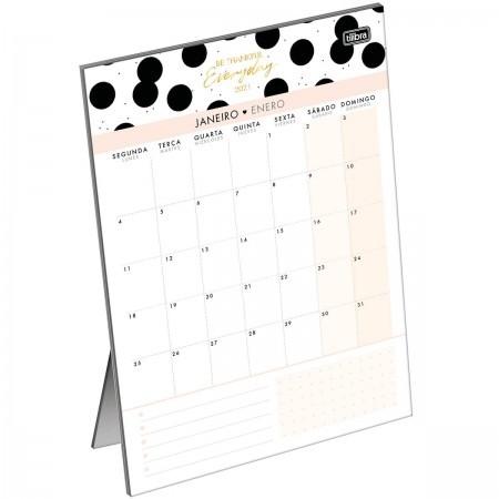 Calendário Planner de Mesa West Village 2021 | Tilibra