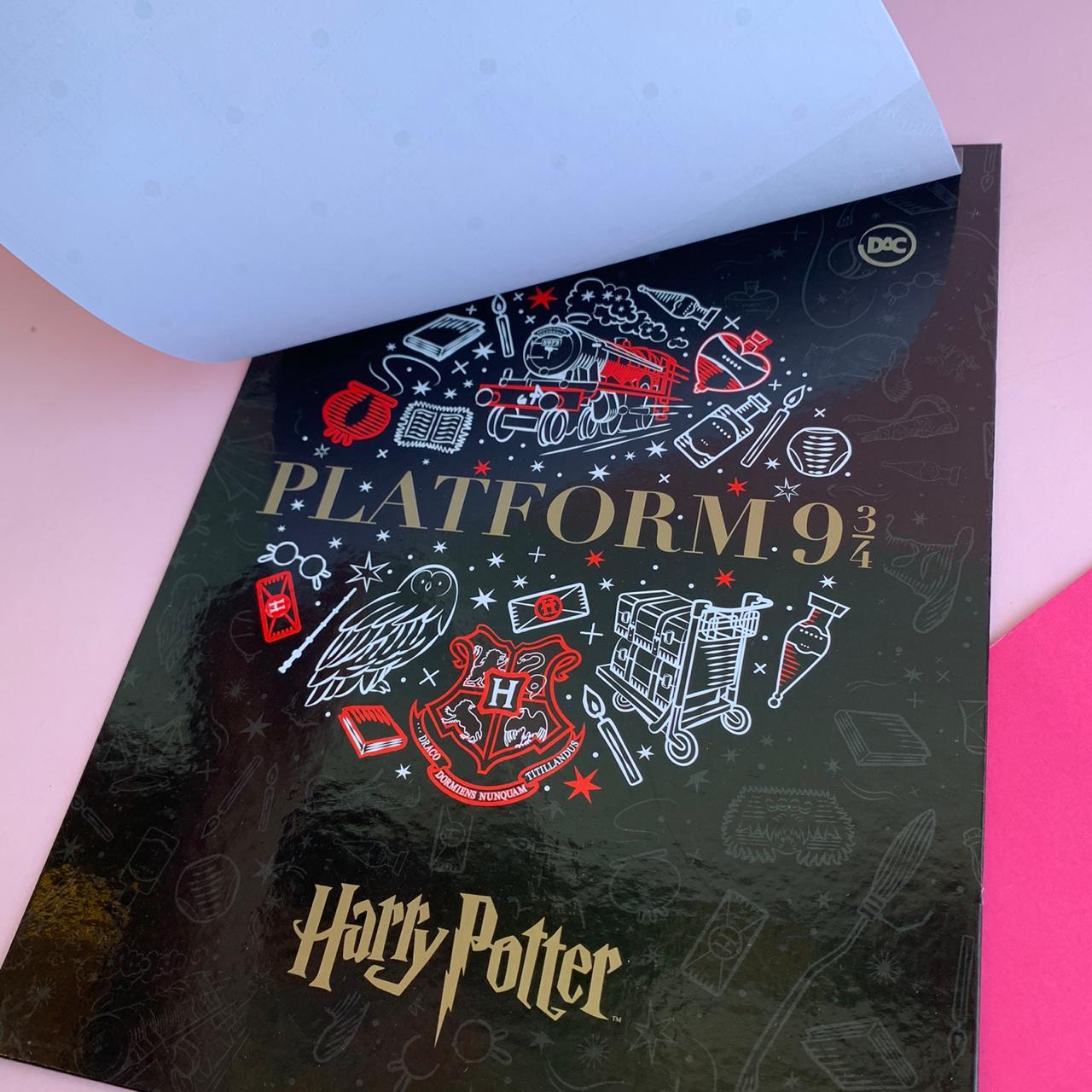 Calendário Planner Permanente com prancheta Harry Potter | DAC