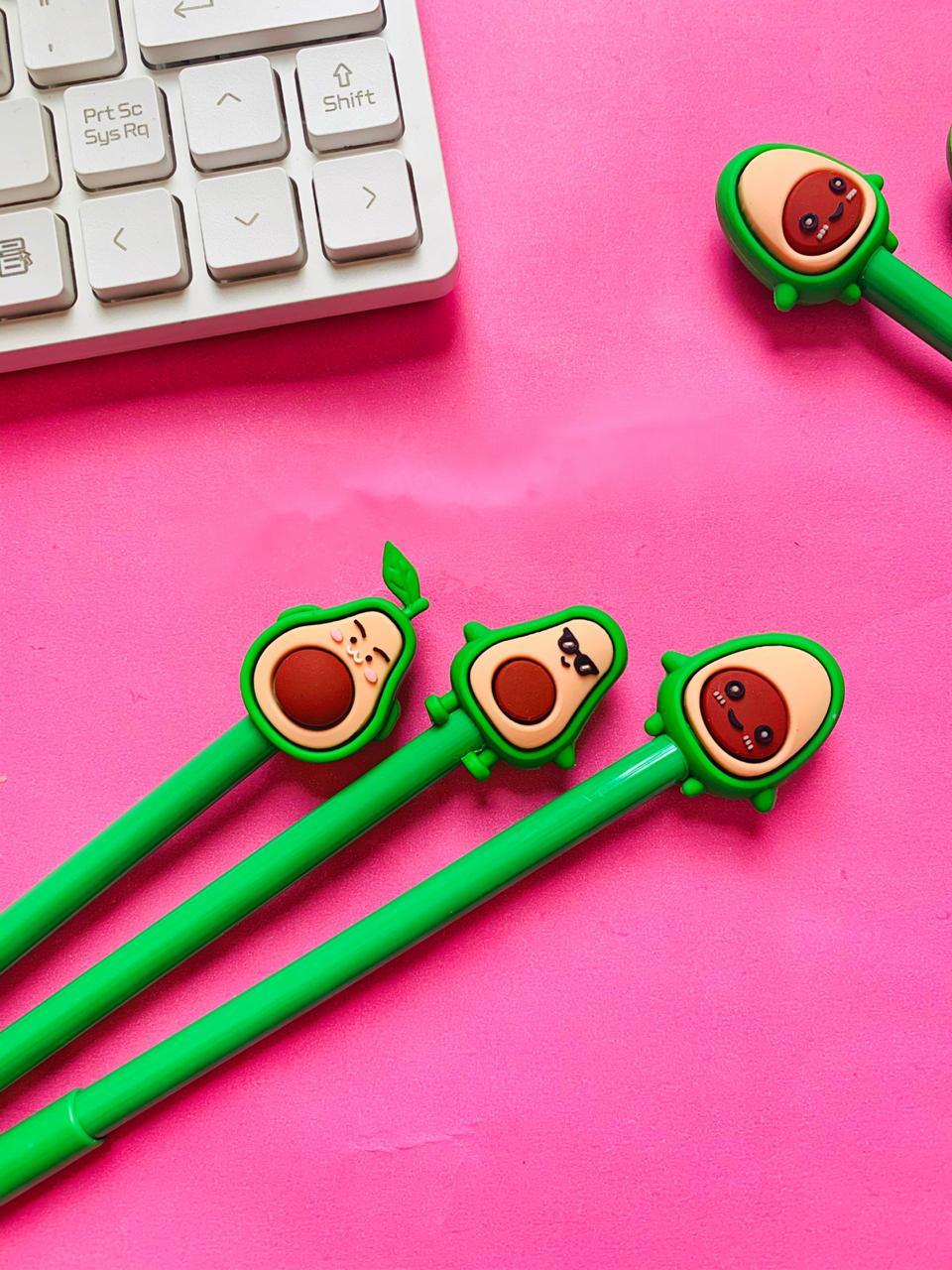 Caneta Abacate Verde Modelos Sortidos | Importado