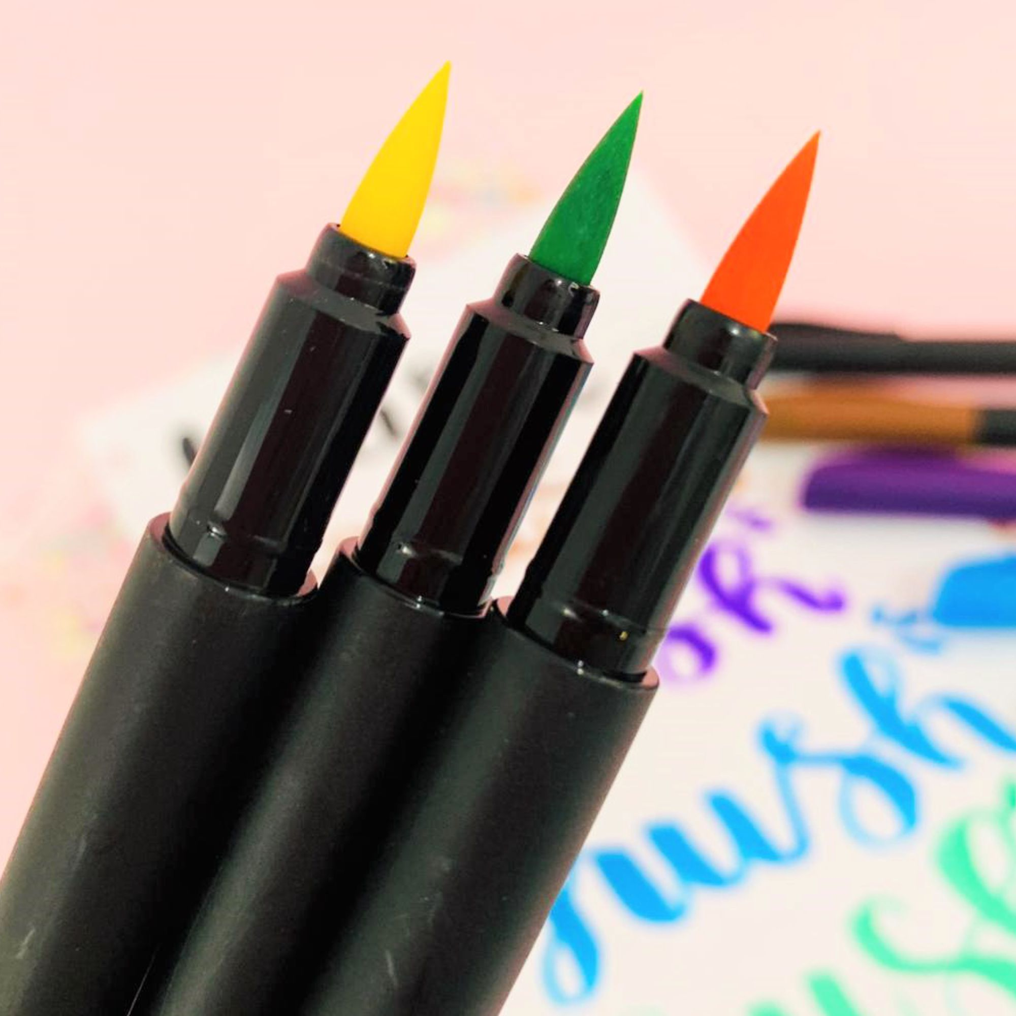 Caneta Brush Pen Supersoft 10 Cores | Faber-Castell