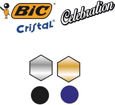 Caneta Esferográfica Cristal Celebration Edição Limitada | BIC