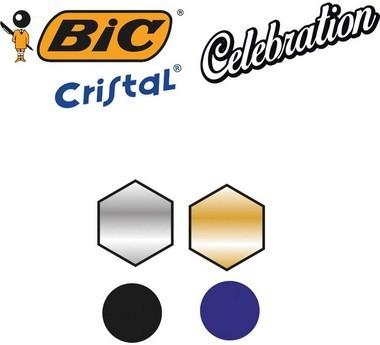 Caneta Esferográfica Cristal Celebration Edição Limitada   BIC