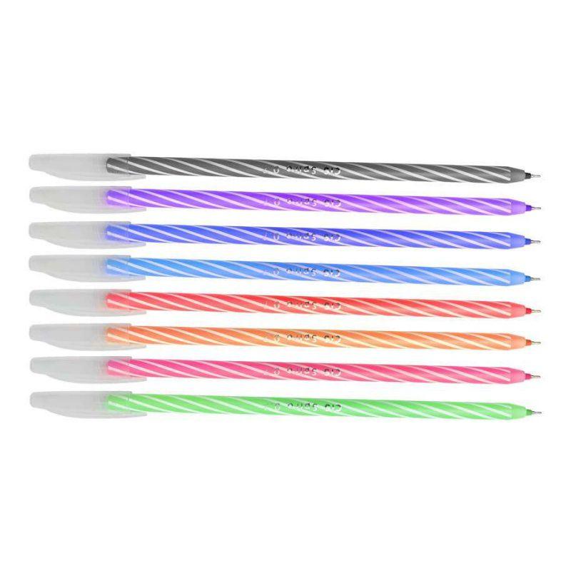 Caneta Esferográfica Spiro 0.7mm Color   Cis
