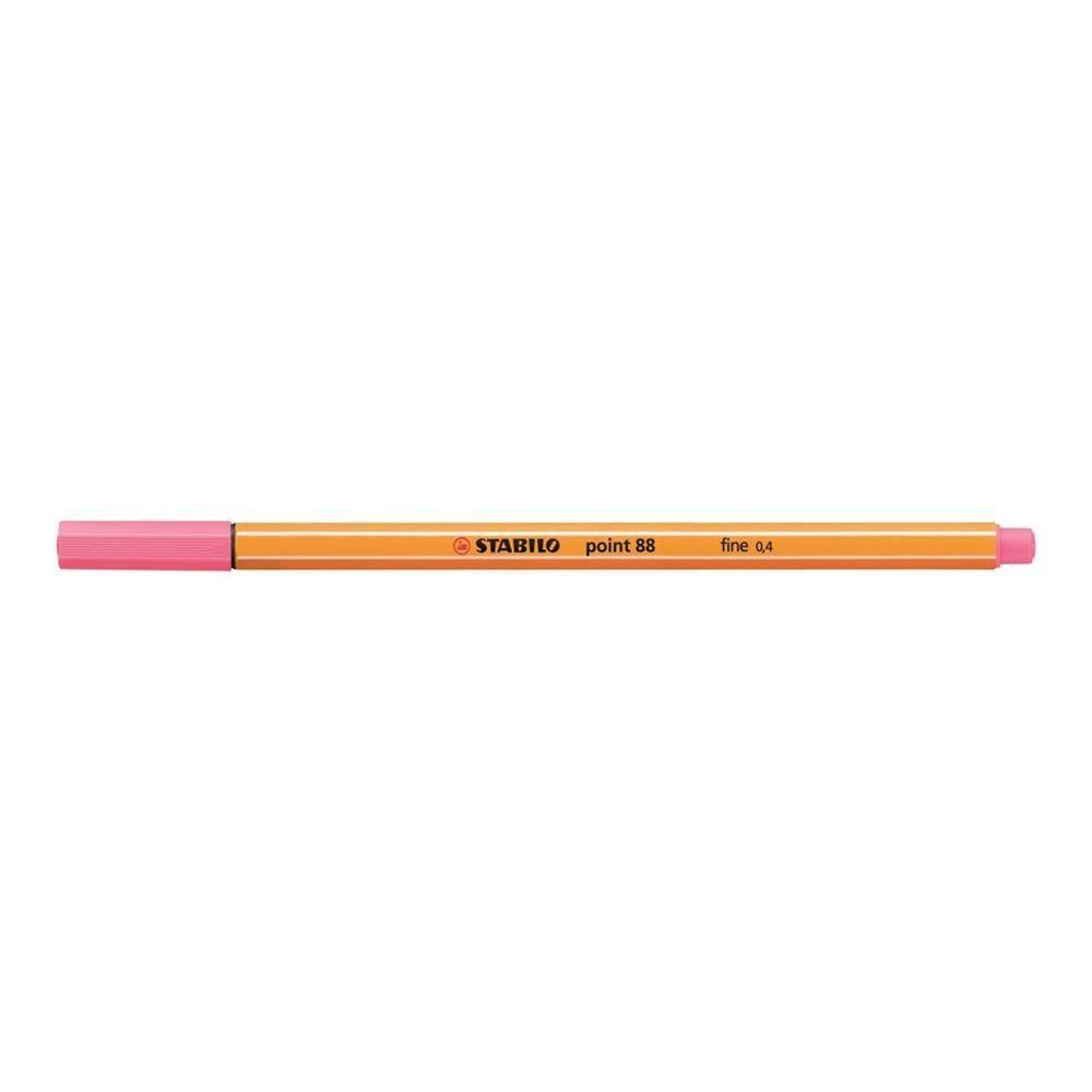 Caneta hidrográfica Fine Point 88/29 - Rosa Claro - 0.4mm   Stabilo