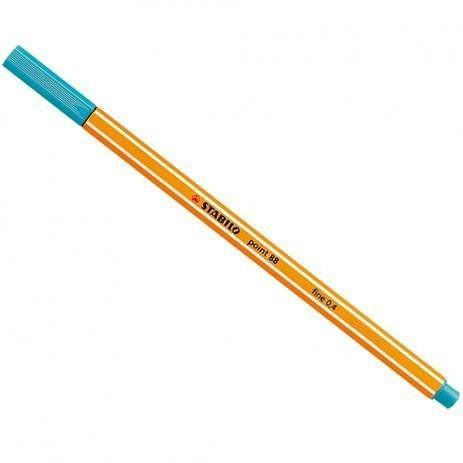 Caneta Hidrográfica Fine Point 88/51 - 0.4mm Azul Turqueza | Stabilo